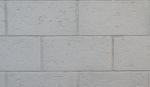 Stacked brick white